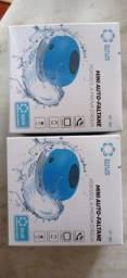 Caixinha De Som Banheiro Bluetooth Sem Fio Aprova D'agua Banheiro Somente Branco !!