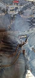 Lote calça jeans feminina n°42