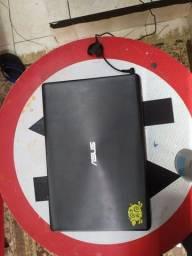 "Note book Asus core i5 tela 15"" troco por Corsa, uno."