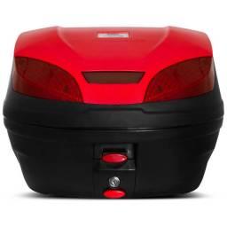 Maleiro Bauleto Baú de Moto 30 Litros Pro Tork - Vermelho