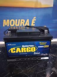 Título do anúncio: Bateria 60Ah Cargo. Varias Marcas Disponiveis