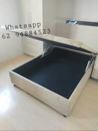 Título do anúncio: Cama box baú(138×188×43) casal produto novo com garantia.