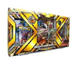 Box Pokemon Coleção Premium Mega Camerupt EX