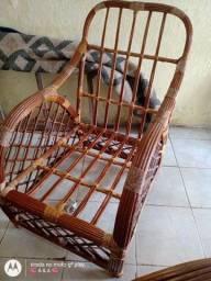 Conjunto de sofá de bambu