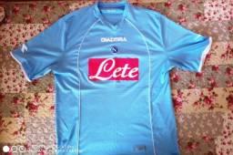 Camisa Napoli 2006 Adulto Tamanho G