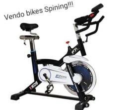 Aparelhos musculação e bikes de spining varios modelos...