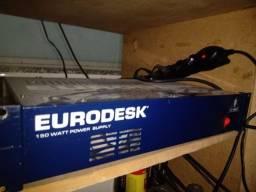 Mesa De Som Behringer Eurodesk MX3282A