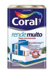 Título do anúncio: Vendo Tinta Coral Rende Muito