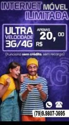 Título do anúncio: Chip/4g/WiFiMóvel/30dias