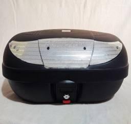 Maleiro Bauleto Baú de Moto 45 Litros Pro Tork - Prata