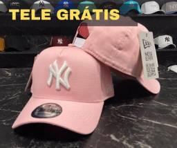 Boné NY Yankees Tele Grátis