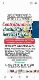 Título do anúncio: Restaurante contrata  auxiliar de serviços gerais Fixo