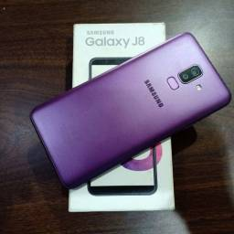 Troco Samsung Galaxy J8 64gb + volta em dinheiro por IPhone 8 plus