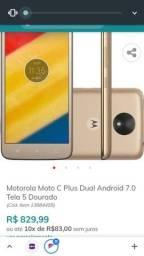 """Smartphone Motorola Moto C Plus/5"""""""