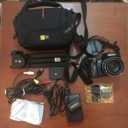 Câmera Digital Sony Cybershot Dsc-hx1 + Acessórios