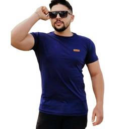 Kit Camisa Masculina Lisa Com 3 Peças