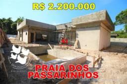 Título do anúncio: Praia dos Passarinhos, Casa Térrea, Espetacular, 3 suítes, Piscina, Negocie