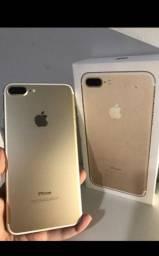 Iphone 7 plus Dourado 32GB COM CAIXA