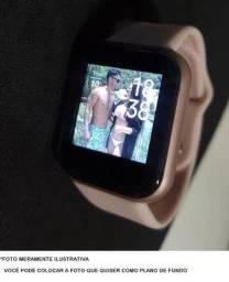 Relógio Inteligente Smartwatch D20 2021 - MODELO ATUALIZADO FOTO NA TELA