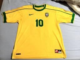 Camisa Seleção Brasileira 1998