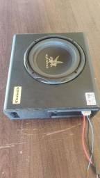 Caixa Mini Slim Cxms200 Sub 8'' Amplificada - Corzus