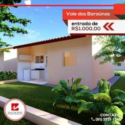 Venha morar em Nova Caruaru com Entrada até em 24x