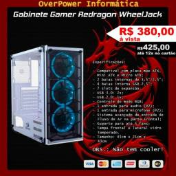 Gabinete Gamer Redragon Wheeljack Branco