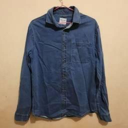 Título do anúncio: Casaco jeans P unissex