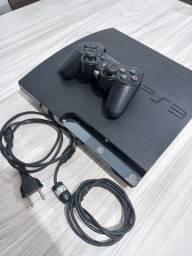 Título do anúncio: Playstaion 3 + Controle e 6 Jogos