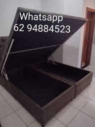 Título do anúncio: Cama box baú super King (193×203×43)direto da fábrica.