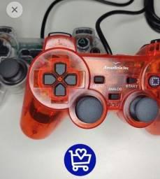 Título do anúncio: Controle PS2 Colorido - faço entrega