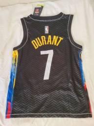 Camisa Brooklyn Nets City edition Durant 7