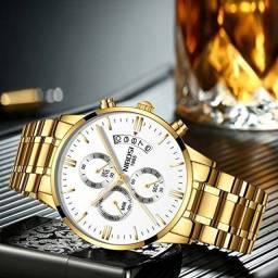 Título do anúncio: Relógios Masculino 1 ano de garantia. Leia a descrição