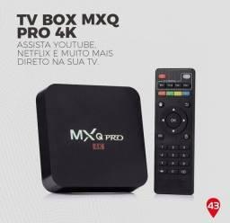 Tv box para transformar a tv em smart novos com garantia