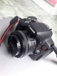 Título do anúncio: Camera t5i + 50mm
