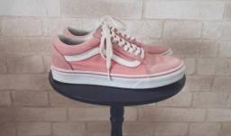 Tênis Vans Old Skool rosa