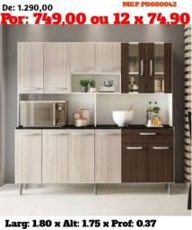Promoção em MS- Armario de Cozinha- Kit de Cozinha Grande- Cozinha-