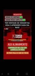 Título do anúncio: VAGA DE AUX. ALINHAMENTO / MECÂNICO AUTOMOTIVO