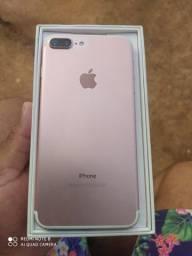 Vendo iPhone 7 Plus 256 gb 90% de bateria