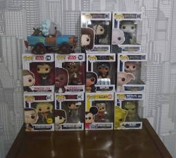 Funko pops diversos(harry potter, star wars, mickey, stranger things...)