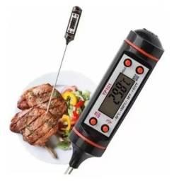 Título do anúncio: Termômetro Culinário Digital Espeto Alimento Cozinha Liquido