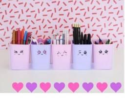 Porta Organizador Infantil Lápis caneta Porta objetos doçura