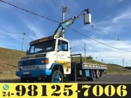 Aluguel Caminhão Munck e Frete em Barra Mansa c Cesto Aéreo Duplo