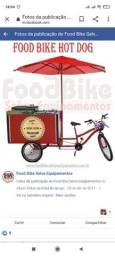 Food truck bike cachorro quente e Beiju (triciclo)