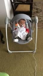 Cadeira de Descanso para Bebê Kiddo Mimo - Cinza