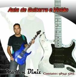 Aula de violão e guitarra