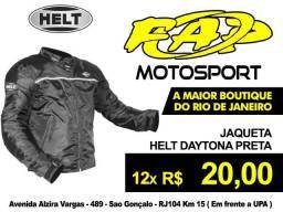 Jaqueta Moto Helt Daytona Preta