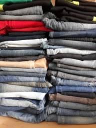 Vendo lote de calcas jeans e social!