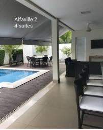 Casa Alphaville II- 4 suites sendo uma Master com Closet