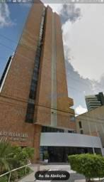 Apartamento com 1 dormitório à venda, 45 m² por R$ 320.000,00 - Meireles - Fortaleza/CE